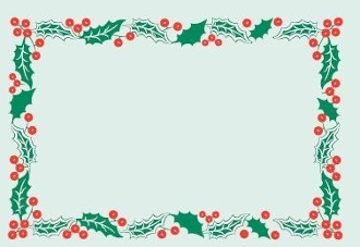 B15052 Border Holly